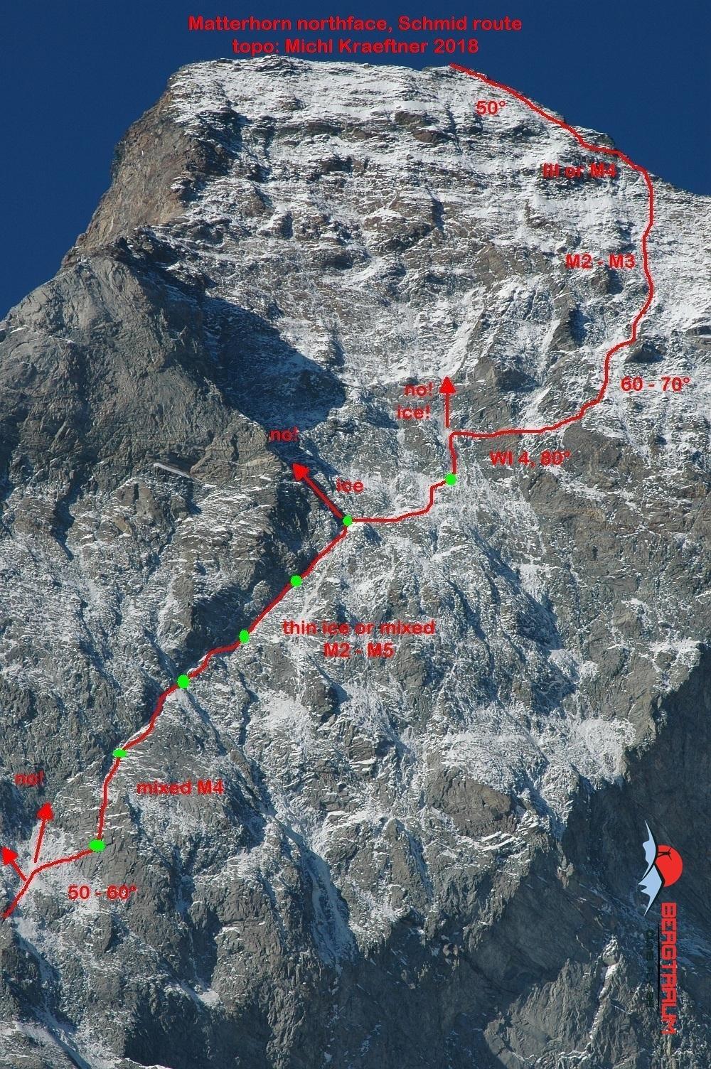 Matterhorn-topo
