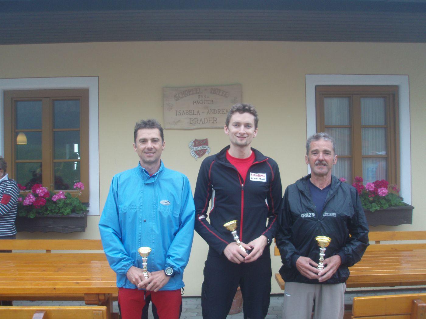 Gesamtsieg beim Schöpfl- Berglauf 2011