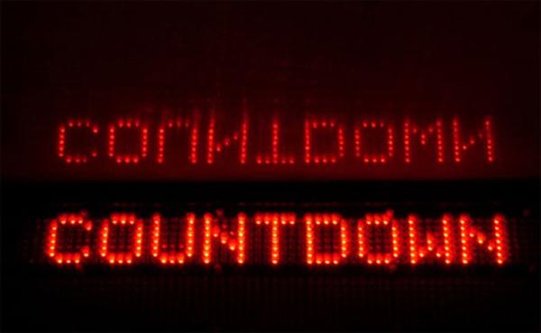 Der Countdown läuft…