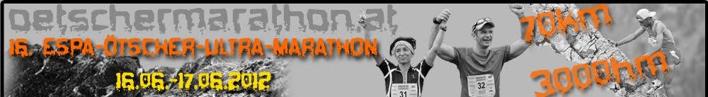 Countdown ÖTSCHER Ultra Marathon 2012