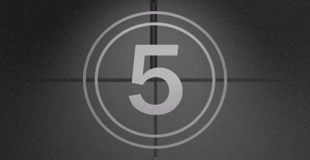 Der Countdown läuft 2013!