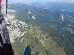die Tauplitz aus 3000 m...