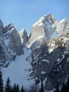 Kugy Couloir, 45°