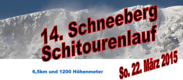 Vorschau Schneeberg- LMS 2015!
