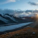 herrliche Abendstimmung am Matterhorn...