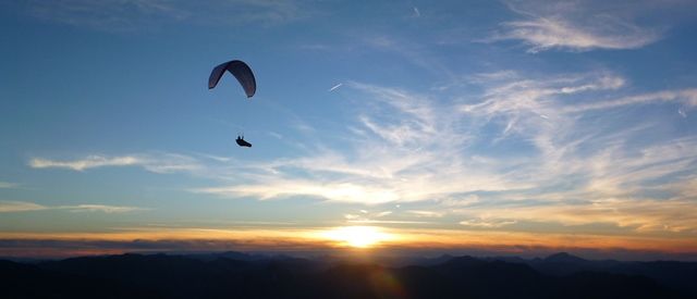 sunset hike & fly Schneeberg!
