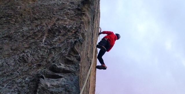 (Eis-) Klettern im Burgenland?