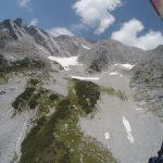 erster Startplatz das rechte Schneefeld oben...
