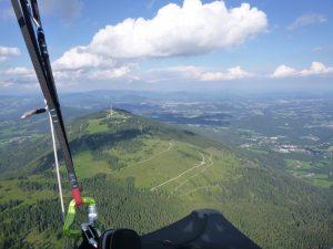 das Grazer Bergland...