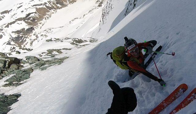 ski descent Pallavicini 2017!