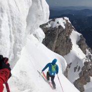 Steilrinnen am Schneeberg 2018!