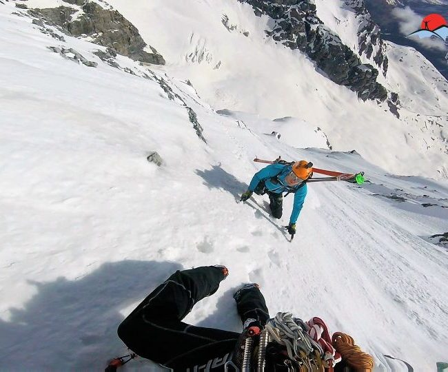 Zebru Nordwand 2018!
